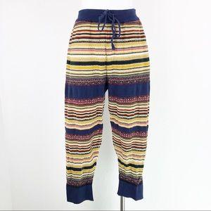 Free People Joggers Pants Drawstring Knit Pull
